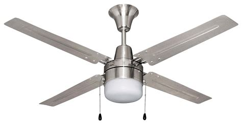 litex urbana 48 inch ceiling fan with four brushed chrome