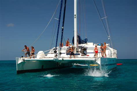 Catamaran With Net by The Secret To Your Perfect Yacht Vacation Is In The