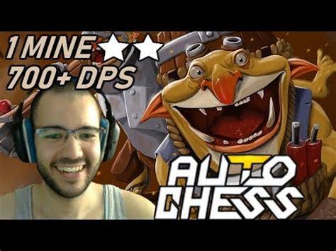 1 mine team wipe 700 dps techies dota auto chess gameplay 105 youtube