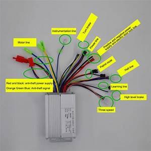 Brushless Motor Controller Wiring Diagram