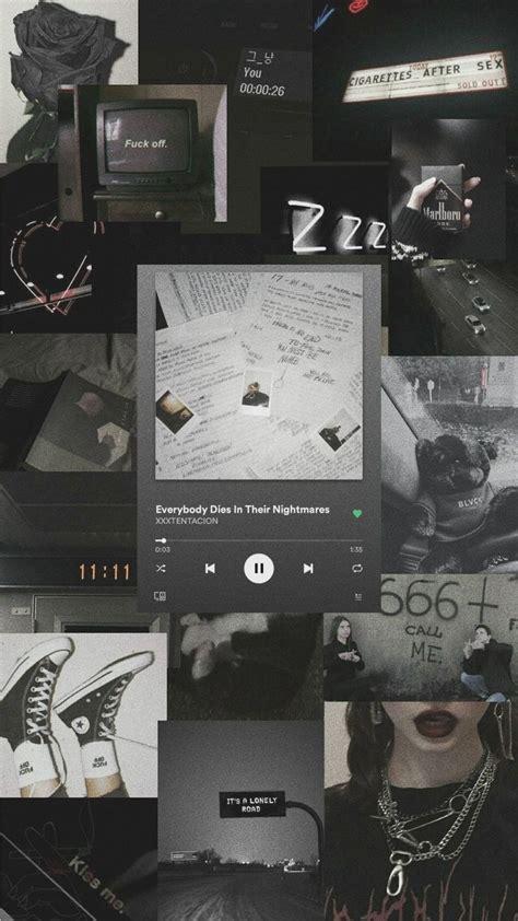 black aesthetic di 2020 gambar kata