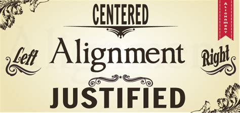 learn typography alignment