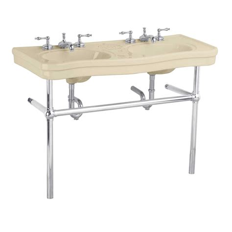 Bathroom Sink Metal Legs by Console Sink With Metal Legs Metal Console Sink
