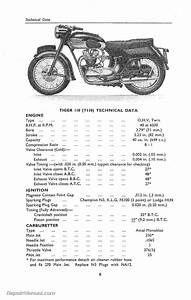 Triumph Instruction Manual 16 Motorcycle Owners Manual