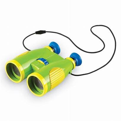 Learning Yellow Binoculars Science Prism Roof Primary