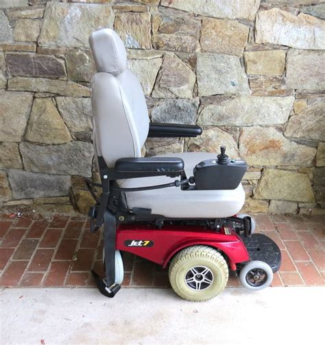 pride mobility scooter jet 7 power electric wheelchair