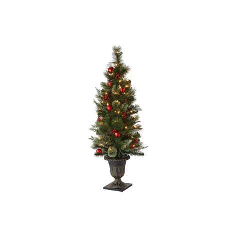 holiday living halloween lights martha stewart living 48 in indoor pre lit cedar and pine