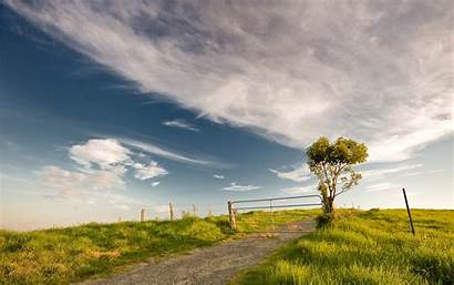 Summer Nature Wallpapers Seasons Desktop Resolution Road