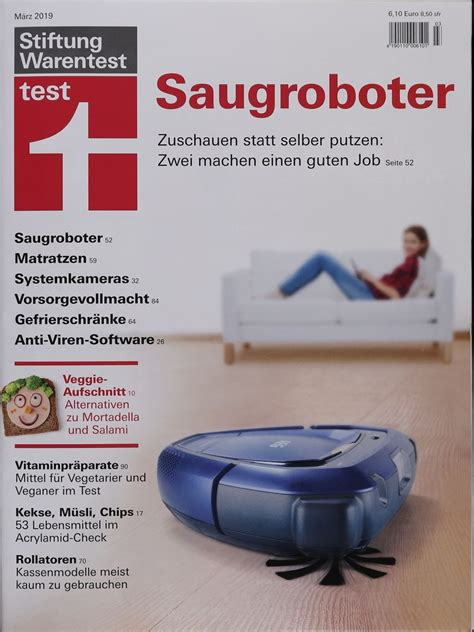 Test Dispersionsfarbe Stiftung Warentest by Stiftung Warentest Test Magazin 3 2019 Zeitungen Und