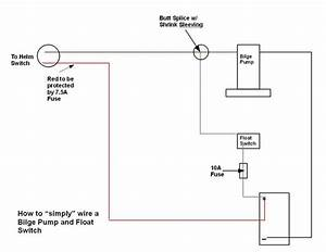 Wiring Diagram Database  Bilge Pump Wiring Diagram With