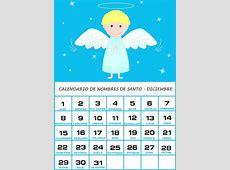 Calendario de Nombres de Santo – Diciembre