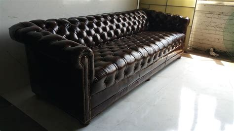 chesterfield sofas for sale brown leather button tufted chesterfield sofa for