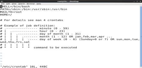 cron crontab commands  backup  ubuntu