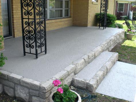 front porch concrete floor ideas