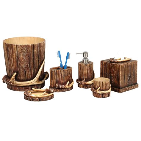 rustic bathroom accessories sets brightpulse us