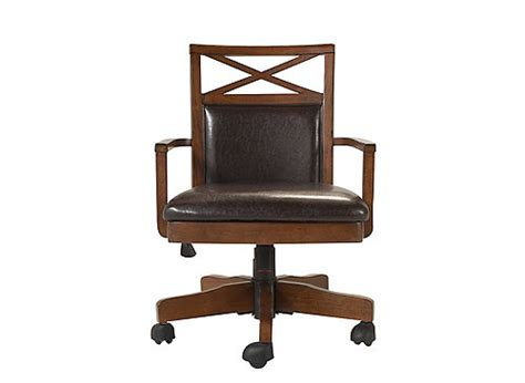 tess office chair cherry black raymour flanigan