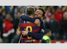 Andres Iniesta and Leo Messi win 30th trophy with Barcelona