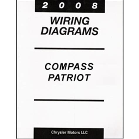 2008 Jeep Compas Radio Wiring Diagram by 2008 Jeep Compass And Patriot Mk Wiring Manual
