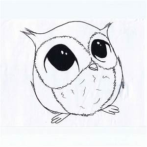 cute black drawings of animals | Go Back > Images For ...