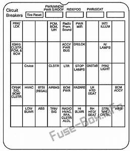 Buick Century Fuse Box Diagram