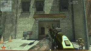 MW2 GOLDEN AK 47 Call Of Duty Modern Warfare 2 Skin Mods