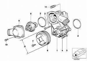 Bmw 750il Pulley  D 109mm  Engine  Belt  Fan