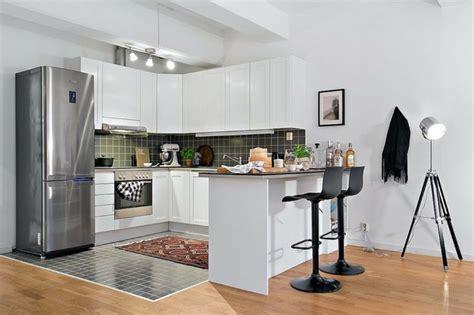 cuisine petit espace design aménagement petit espace idées déco petit appartement