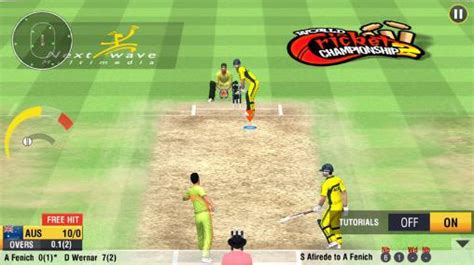 world cricket chionship 2 for android free
