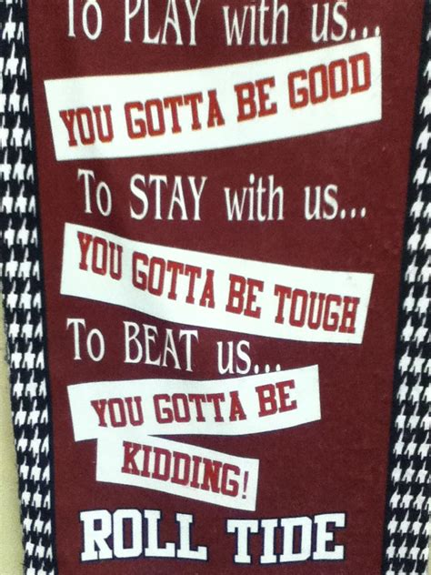 Roll Tide Funny Quotes