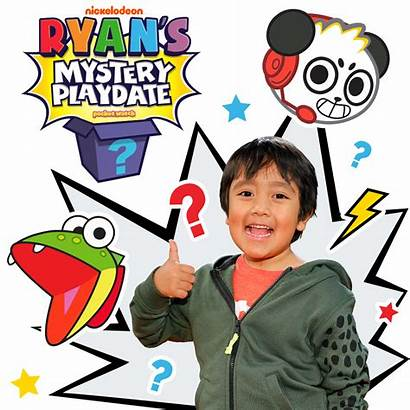 Playdate Mystery Ryan Jr Nick Episodes Toys