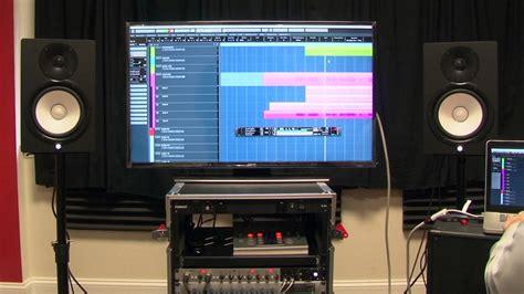 yamaha hs powered studio monitors crutchfield video
