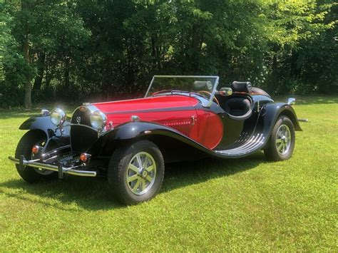 I'm pretty sure it's a replica. 1984 Bugatti De La Chapelle Type 55 - Classic Bugatti De La Chapelle Type 55 1984 for sale