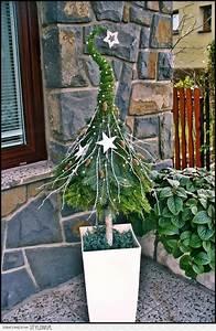 Eingangsbereich Außen Dekorieren : 63 besten tanne moos co zu weihnachten bilder auf pinterest weihnachtsdekoration ~ Buech-reservation.com Haus und Dekorationen