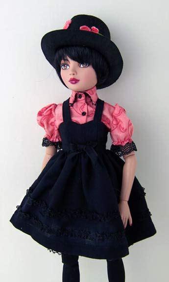 wonderland msd doll clothes pattern