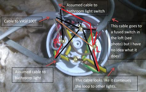 wiring confusion  junction box vent axia vasft
