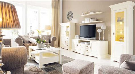 wohnzimmer landhausstil farben wohnzimmermöbel holz weiß möbelideen