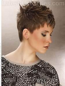 Short Choppy Pixie Haircuts