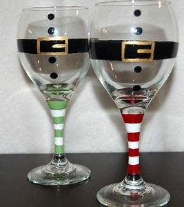 17 Best images about Crafts wine glass painting on