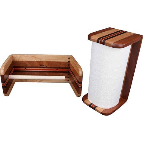 towel holder wood paper towel holder ode to wood
