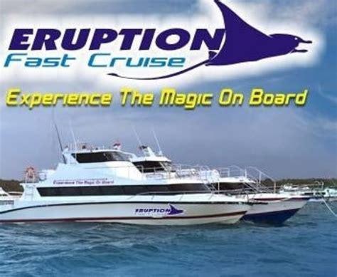 Fast Boat Murah Ke Lembongan by Eruption Fast Cruise Paket Tour Murah Nusa Penida