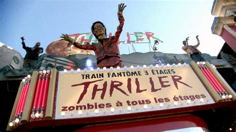 zombie thriller train fantome thriller youtube
