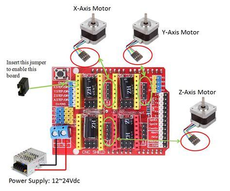 5 Axi Lathe Axi Diagram by Grbl Cnc Shield For 3 Axis Cnc Machine The Arduino Cnc