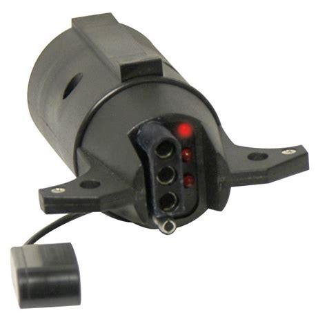 trailer light adapter 7 rv blade to 4 flat trailer brake light adapter ebay