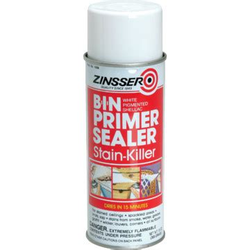 oz zinsser bin shellac based primer sealer white hd