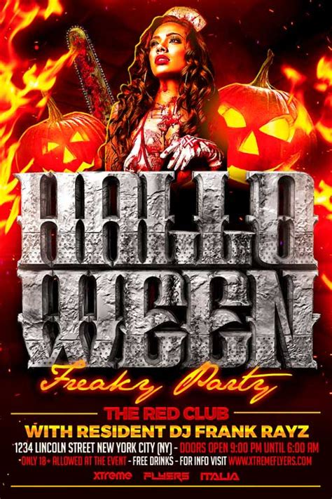Best Halloween Flyer Templates Ideas And Images On Bing Find