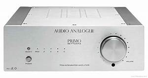 Audio Analogue Primo Settanta - Manual