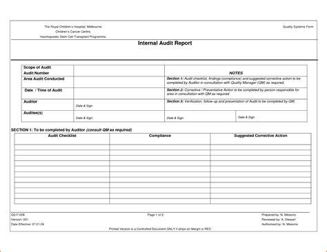 audit follow up template sle audit report template portablegasgrillweber