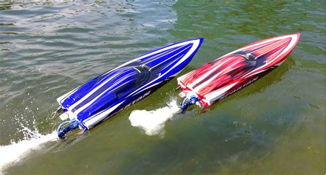 Traxxas Rc Boats Youtube by Rc Adventures Duelling Traxxas Spartan Speed Boats And