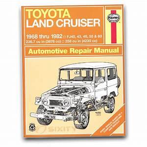 Haynes Toyota Land Cruiser Fj40 43 45 55 60 68