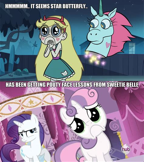Pouty Face Meme - pouty face lessons my little pony friendship is magic know your meme